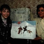 Агафонова И.Л. воплотила в образование детей школы высокий уровень профессионализма как педагог и художник.