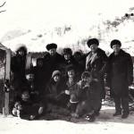 В составе агит.бригады педагоги школы выступали в отдалённых сёлах и табунах.