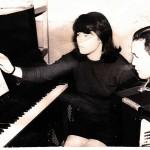 1973 г.Бобкова .Г.Ф.(Семиколленных) с участгницей краевого конкурса исполнительского мастерства О.Ичанга